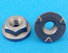 薄六角法兰焊接螺母